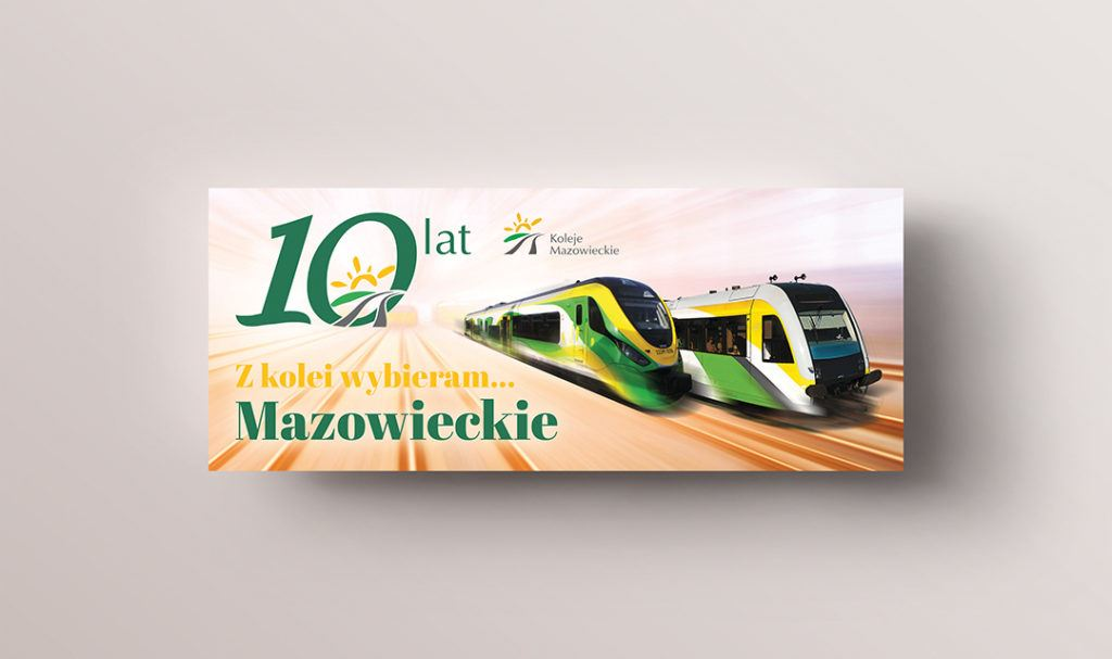 Koleje Mazowieckie km 02 STUDIO FORM | Advertising Agency Warsaw