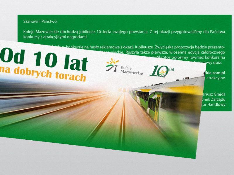 Koleje Mazowieckie km 03 STUDIO FORM   Advertising Agency Warsaw
